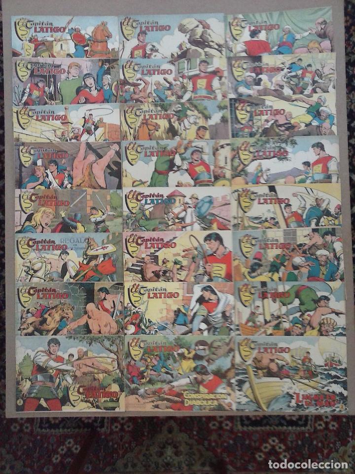 EL CAPITÁN LÁTIGO ORIGINAL COMPLETA 1 AL 24 - 1962 F. CABEDO, BUENA-MUY BUENA CONSERVACIÓN,VER FOTOS (Tebeos y Comics - Valenciana - Otros)