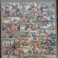 Tebeos: EL CAPITÁN LÁTIGO ORIGINAL COMPLETA 1 AL 24 - 1962 F. CABEDO, BUENA-MUY BUENA CONSERVACIÓN,VER FOTOS. Lote 101164427