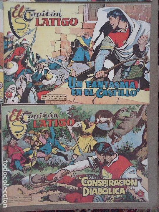Tebeos: EL CAPITÁN LÁTIGO ORIGINAL COMPLETA 1 AL 24 - 1962 F. CABEDO, BUENA-MUY BUENA CONSERVACIÓN,ver fotos - Foto 6 - 101164427