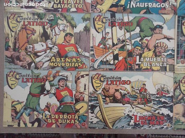 Tebeos: EL CAPITÁN LÁTIGO ORIGINAL COMPLETA 1 AL 24 - 1962 F. CABEDO, BUENA-MUY BUENA CONSERVACIÓN,ver fotos - Foto 10 - 101164427