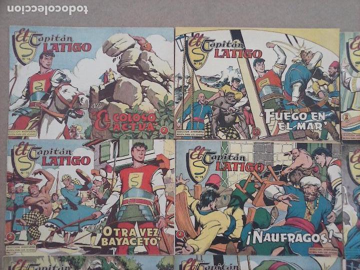 Tebeos: EL CAPITÁN LÁTIGO ORIGINAL COMPLETA 1 AL 24 - 1962 F. CABEDO, BUENA-MUY BUENA CONSERVACIÓN,ver fotos - Foto 11 - 101164427