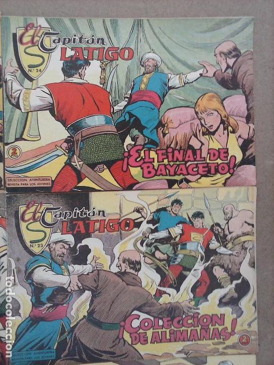 Tebeos: EL CAPITÁN LÁTIGO ORIGINAL COMPLETA 1 AL 24 - 1962 F. CABEDO, BUENA-MUY BUENA CONSERVACIÓN,ver fotos - Foto 13 - 101164427