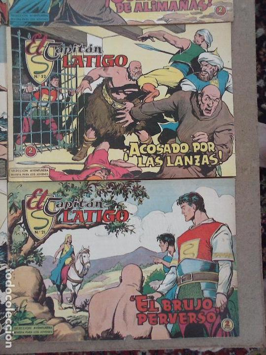 Tebeos: EL CAPITÁN LÁTIGO ORIGINAL COMPLETA 1 AL 24 - 1962 F. CABEDO, BUENA-MUY BUENA CONSERVACIÓN,ver fotos - Foto 15 - 101164427