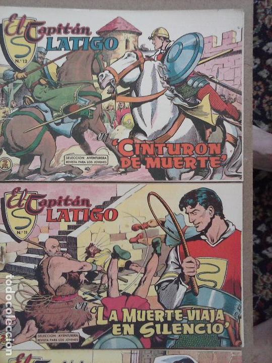 Tebeos: EL CAPITÁN LÁTIGO ORIGINAL COMPLETA 1 AL 24 - 1962 F. CABEDO, BUENA-MUY BUENA CONSERVACIÓN,ver fotos - Foto 19 - 101164427