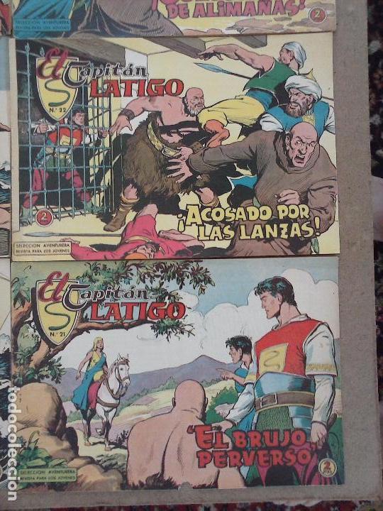 Tebeos: EL CAPITÁN LÁTIGO ORIGINAL COMPLETA 1 AL 24 - 1962 F. CABEDO, BUENA-MUY BUENA CONSERVACIÓN,ver fotos - Foto 25 - 101164427