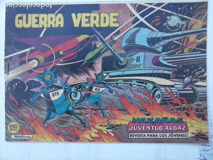 Tebeos: HAZAÑAS DE LA JUVENTUD AUDAZ ORIGINAL COMPLETA 1 AL 44 MUY BUENA CONSERVACIÓN, ver fotos de todos - Foto 2 - 101164979