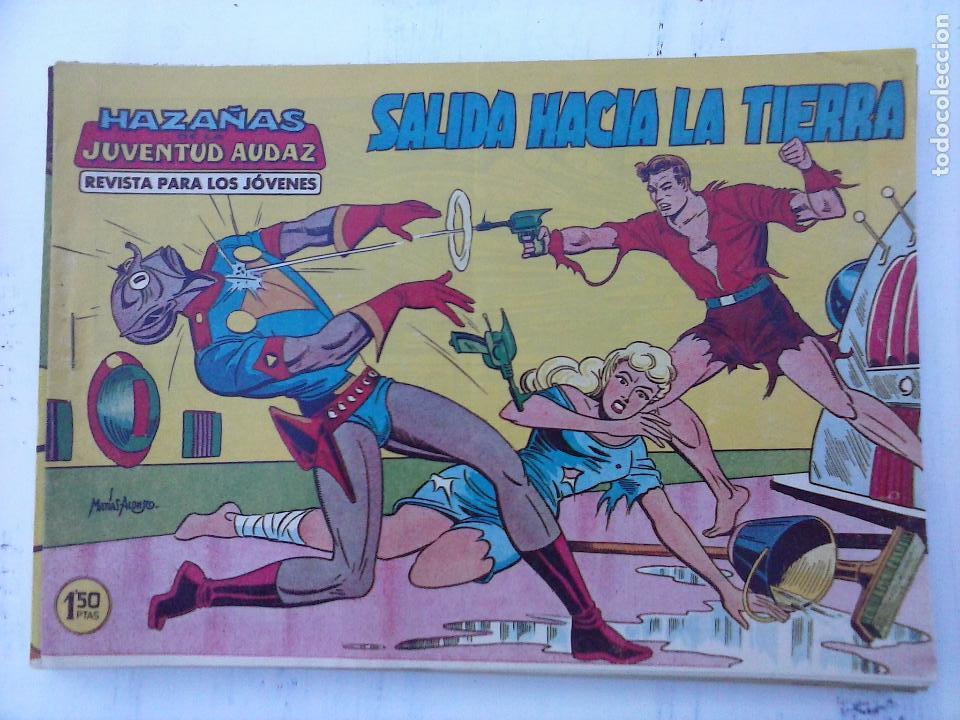 Tebeos: HAZAÑAS DE LA JUVENTUD AUDAZ ORIGINAL COMPLETA 1 AL 44 MUY BUENA CONSERVACIÓN, ver fotos de todos - Foto 17 - 101164979