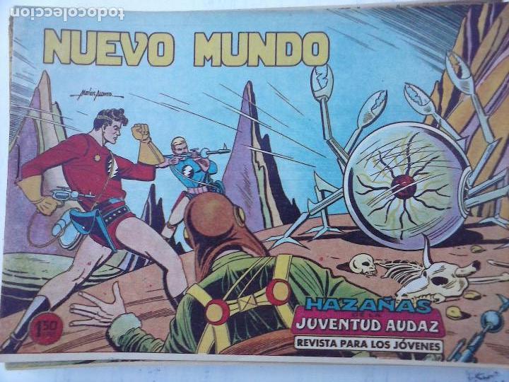 Tebeos: HAZAÑAS DE LA JUVENTUD AUDAZ ORIGINAL COMPLETA 1 AL 44 MUY BUENA CONSERVACIÓN, ver fotos de todos - Foto 27 - 101164979