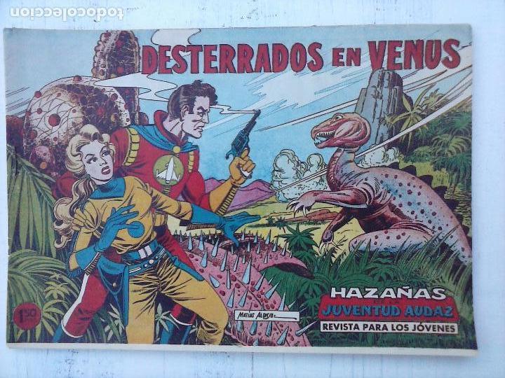 Tebeos: HAZAÑAS DE LA JUVENTUD AUDAZ ORIGINAL COMPLETA 1 AL 44 MUY BUENA CONSERVACIÓN, ver fotos de todos - Foto 34 - 101164979