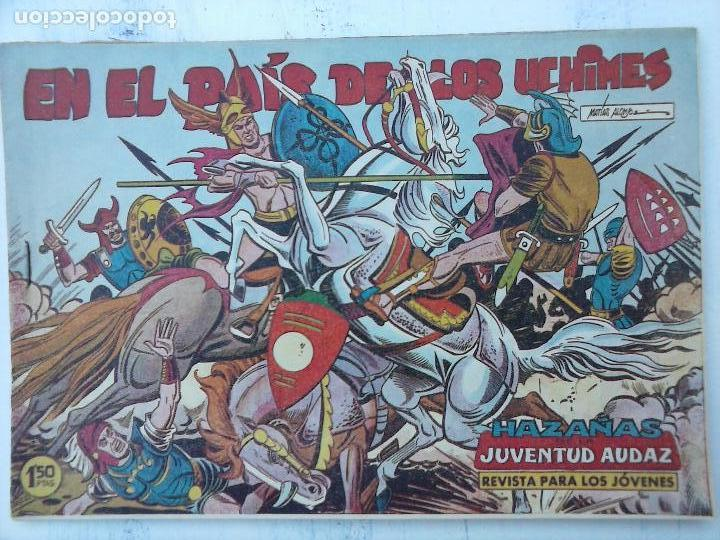 Tebeos: HAZAÑAS DE LA JUVENTUD AUDAZ ORIGINAL COMPLETA 1 AL 44 MUY BUENA CONSERVACIÓN, ver fotos de todos - Foto 35 - 101164979
