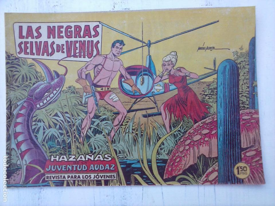 Tebeos: HAZAÑAS DE LA JUVENTUD AUDAZ ORIGINAL COMPLETA 1 AL 44 MUY BUENA CONSERVACIÓN, ver fotos de todos - Foto 36 - 101164979