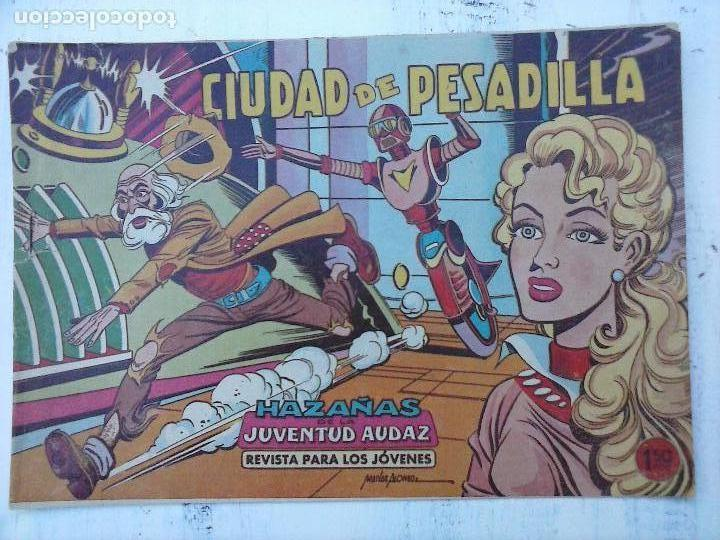 Tebeos: HAZAÑAS DE LA JUVENTUD AUDAZ ORIGINAL COMPLETA 1 AL 44 MUY BUENA CONSERVACIÓN, ver fotos de todos - Foto 39 - 101164979