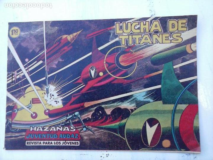 Tebeos: HAZAÑAS DE LA JUVENTUD AUDAZ ORIGINAL COMPLETA 1 AL 44 MUY BUENA CONSERVACIÓN, ver fotos de todos - Foto 44 - 101164979