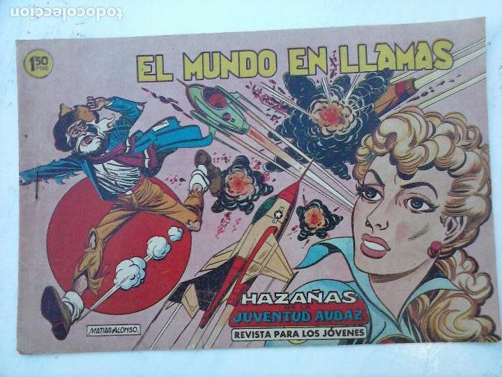 Tebeos: HAZAÑAS DE LA JUVENTUD AUDAZ ORIGINAL COMPLETA 1 AL 44 MUY BUENA CONSERVACIÓN, ver fotos de todos - Foto 45 - 101164979