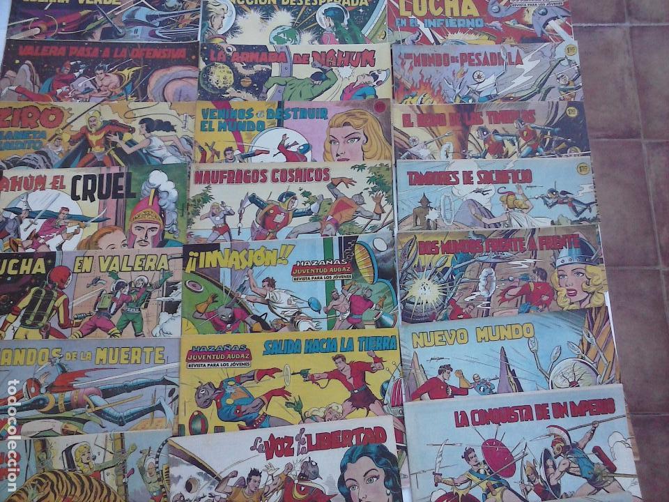 Tebeos: HAZAÑAS DE LA JUVENTUD AUDAZ ORIGINAL COMPLETA 1 AL 44 MUY BUENA CONSERVACIÓN, ver fotos de todos - Foto 47 - 101164979