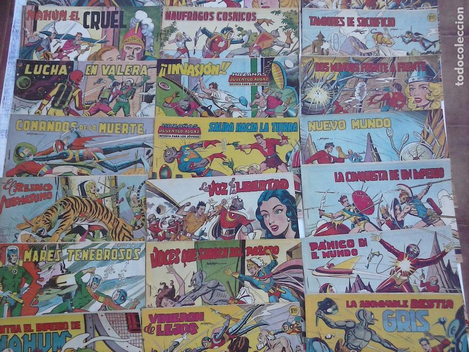Tebeos: HAZAÑAS DE LA JUVENTUD AUDAZ ORIGINAL COMPLETA 1 AL 44 MUY BUENA CONSERVACIÓN, ver fotos de todos - Foto 48 - 101164979