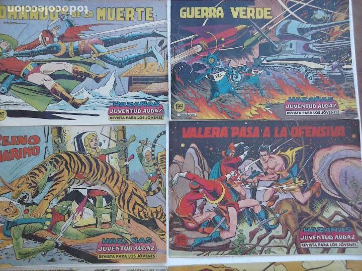 Tebeos: HAZAÑAS DE LA JUVENTUD AUDAZ ORIGINAL COMPLETA 1 AL 44 MUY BUENA CONSERVACIÓN, ver fotos de todos - Foto 51 - 101164979
