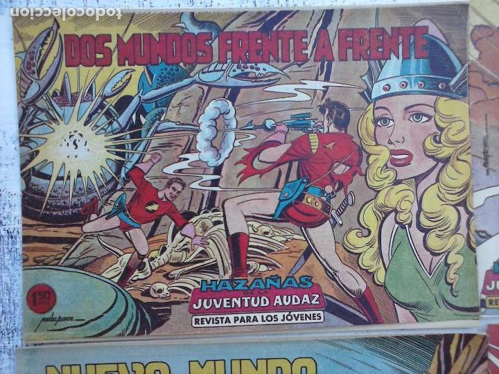 Tebeos: HAZAÑAS DE LA JUVENTUD AUDAZ ORIGINAL COMPLETA 1 AL 44 MUY BUENA CONSERVACIÓN, ver fotos de todos - Foto 71 - 101164979