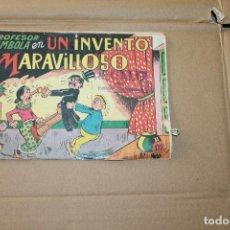 Tebeos: EL PROFESOR CARAMBOLA Nº 2, EDITORIAL VALENCIANA. Lote 101228619