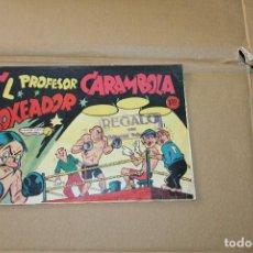 Tebeos: EL PROFESOR CARAMBOLA Nº 8, EDITORIAL VALENCIANA. Lote 101229159
