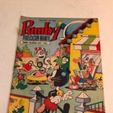 Tebeos: PUMBY Nº 652. VALENCIANA 1970. Lote 101350115