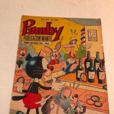 Tebeos: PUMBY Nº 606. VALENCIANA 1969. Lote 101350407