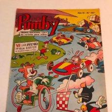 Tebeos: PUMBY Nº 427. VALENCIANA 1966. Lote 101360499