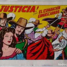 Tebeos: EL ESPADACHÍN ENMASACARDO Nº 2 EDICIÓN 2ª 1981 VALENCIANA NUEVO. Lote 101443011