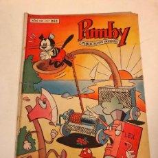 Tebeos: PUMBY Nº 265. VALENCIANA 1963. Lote 101570167