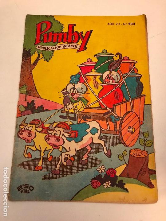 PUMBY Nº 234. VALENCIANA 1962 (Tebeos y Comics - Valenciana - Pumby)