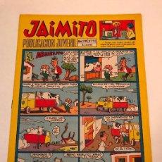 Tebeos: JAIMITO Nº 990. VALENCIANA 1966. . Lote 101653227