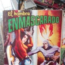 Tebeos: EL HOMBRE ENMASCARADO Nº 23 COLOSOS DEL COMIC , VALENCIANA 1980, PASION POR LA MUERTE. Lote 101741887