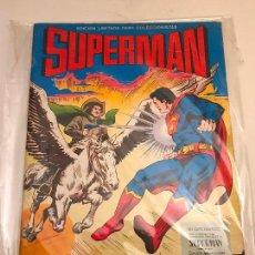Tebeos: SUPERMAN EDICION GIGANTE Nº 3. EL DESAFIO DE TERRA-MAN. VALENCIANA 1976. Lote 101794995
