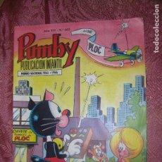 Tebeos: (F1) PUMBY PUBLICACIÓN INFANTIL Nº 665 EDIT. VALENCIANA AÑO 1970 PREMIO NACIONAL 1963-1966. Lote 101840279