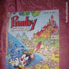 Tebeos: (F1) PUMBY PUBLICACIÓN INFANTIL Nº394 EDIT. VALENCIANA AÑO 1958 PREMIO NACIONAL 1963-1966. Lote 101840935