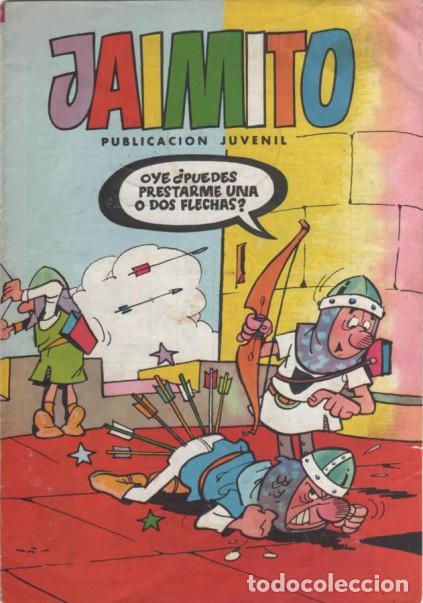 JAIMITO- Nº 1662 -MUY DIFÍCIL- CARBÓ-VEGA-CAPRIOLI-ROJAS-BROCAL-1984-BUENO-DIFÍCIL-LEAN-7253 (Tebeos y Comics - Valenciana - Jaimito)