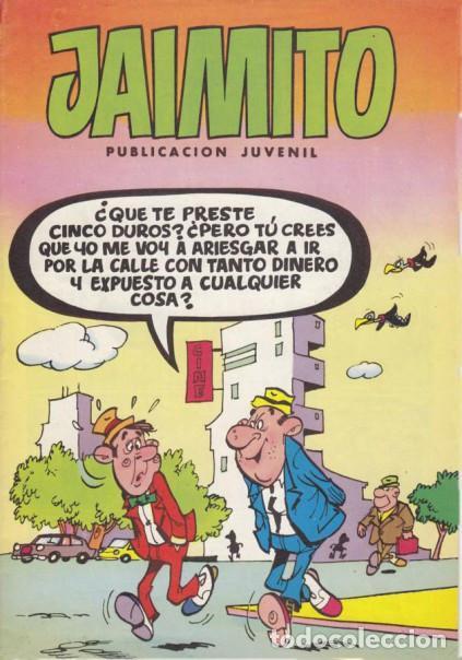 JAIMITO- Nº 1672 -MUY DIFÍCIL- CARBÓ-VEGA-ROBERT LLIN-ROJAS-SIFRE-1984-MUY BUENO-LEAN-7256 (Tebeos y Comics - Valenciana - Jaimito)