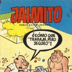 Tebeos: JAIMITO- Nº 1673 -MUY DIFÍCIL- CARBÓ-VEGA-ROBERT LLIN-ROJAS-SIFRE-1984-MUY BUENO-LEAN-1954. Lote 176377039