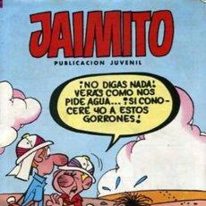 Tebeos: JAIMITO- Nº 1677 -MUY DIFÍCIL- CARBÓ-VEGA-EDGAR.-ROBERT LLIN-SIFRE-ROJAS-VILA-1984-BUENO-LEAN-1915. Lote 175627452