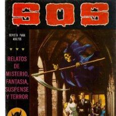 Tebeos: S O S. RELATOS DE MISTERIO, FANTASIA, SUSPENSE Y TERROR. Nº 1. SEGUNDA ÉPOCA. VALENCIANA.(RF.MA)C/40. Lote 102002627