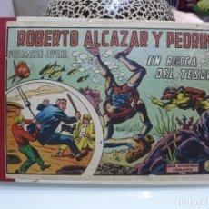 Tebeos: ROBERTO ALCAZAR Y PEDRIN TOMO ENCUADERNADO 1972 CON 24 AVENTURAS. Lote 102017511