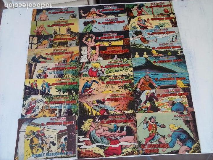EL JUSTICIERO NEGRO ORIGINAL COMPLETA Y SUELTA - VALENCIANA 1965 - VER PORTADAS (Tebeos y Comics - Valenciana - Otros)
