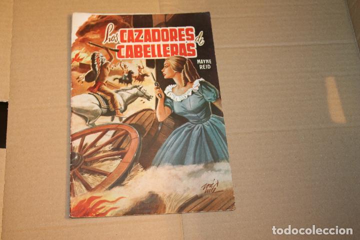 SELECCIÓN AVENTURERA, LOS CAZADORES DE CABELLERAS, EDITORIAL VALENCIANA, AÑOS 60 (Tebeos y Comics - Valenciana - Selección Aventurera)