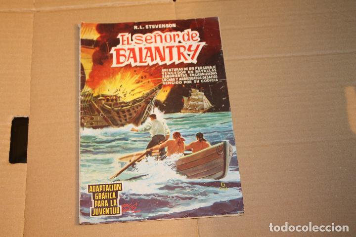 SELECCIÓN AVENTURERA, EL SEÑOR DE BALANTRY, EDITORIAL VALENCIANA, AÑOS 60 (Tebeos y Comics - Valenciana - Selección Aventurera)