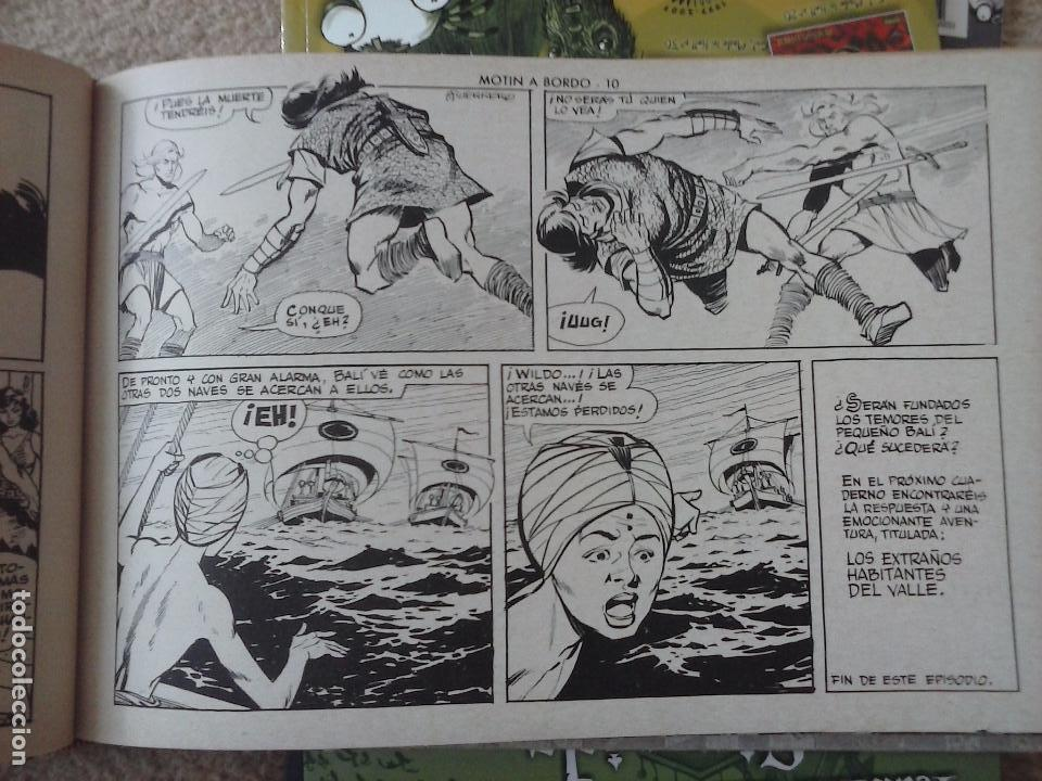 Tebeos: EL JUSTICIERO NEGRO ORIGINAL COMPLETA 1 AL 24 EDI. VALENCIANA 1965 - GUERRERO DIBUJOS, VER PORTADAS - Foto 28 - 102608587