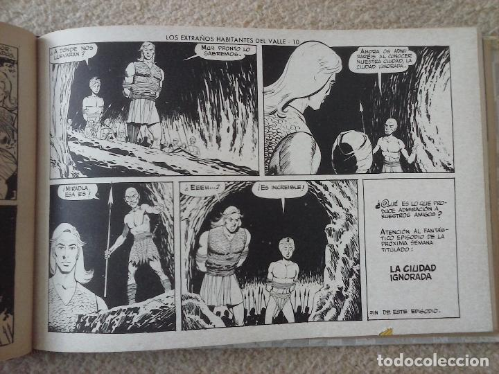Tebeos: EL JUSTICIERO NEGRO ORIGINAL COMPLETA 1 AL 24 EDI. VALENCIANA 1965 - GUERRERO DIBUJOS, VER PORTADAS - Foto 31 - 102608587