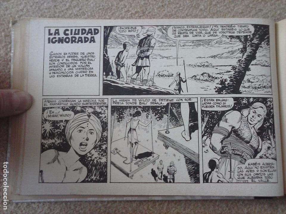 Tebeos: EL JUSTICIERO NEGRO ORIGINAL COMPLETA 1 AL 24 EDI. VALENCIANA 1965 - GUERRERO DIBUJOS, VER PORTADAS - Foto 35 - 102608587