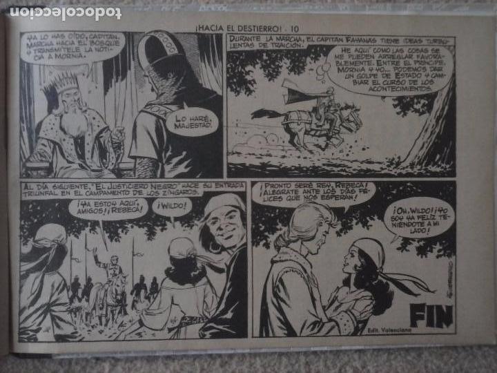 Tebeos: EL JUSTICIERO NEGRO ORIGINAL COMPLETA 1 AL 24 EDI. VALENCIANA 1965 - GUERRERO DIBUJOS, VER PORTADAS - Foto 97 - 102608587