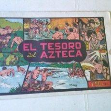 Tebeos: NIÑO GONZALO Nº 4 EL TESORO DEL AZTECA ,COL. DE 14 - VALENCIANA ORIGINAL. Lote 102688011