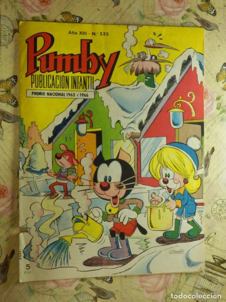 TEBEO - COMIC - PUMBY - AÑO XIII - Nº 535 - VALENCIANA - (Tebeos y Comics - Valenciana - Pumby)